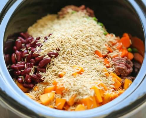 easy crockpot meal for your dog
